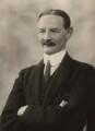 Sir Alexander Logie Elphinstone of Glack, 10th Bt, by Bassano Ltd - NPG x84141