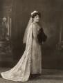 Evangeline Blanche Fyers (née Chichester), by Bassano Ltd - NPG x84200