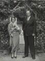 Esther Sarah (née Whitmey), Lady Fairey; Sir (Charles) Richard Fairey, by Bassano Ltd - NPG x84226