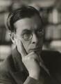 Sir Julian Huxley, by Bassano Ltd - NPG x84302