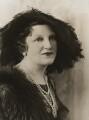 Mrs Frank Otter, by Bassano Ltd - NPG x84384