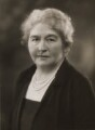 Hilda Runciman (née Stevenson), Viscountess Runciman, by Bassano Ltd - NPG x84646