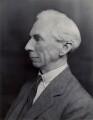 Bertrand Arthur William Russell, 3rd Earl Russell, by Bassano Ltd - NPG x84662