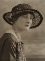 Lady Olivia Trevor (née Buchan), by Bassano Ltd - NPG x84937