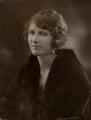 Beryl Fairfax Northcott (née Whiteside), by Bassano Ltd - NPG x85265