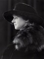 Eileen Agatha Stanhope (née Browne), Countess Stanhope, by Bassano Ltd - NPG x85274