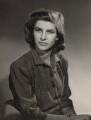 Suzanne Woodhouse (née Irwin), Lady Terrington, by Bassano Ltd - NPG x85279
