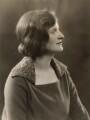 Betty Joel (née Mary Stewart Lockhart), by Bassano Ltd - NPG x85483