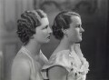 Helen Walford; Maria Cristina Norman (née Walford), by Bassano Ltd - NPG x85549
