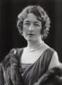 Muriel Emily Ashley (née Spencer), Lady Mount Temple, by Bassano Ltd - NPG x85562