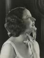 Kathleen Kerr (née Meyrick), by Bassano Ltd - NPG x85579