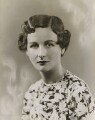 Nancy Mitford, by Bassano Ltd - NPG x85596