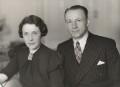 Jessie (née Menzies), Lady Bradman; Sir Donald George Bradman, by Bassano Ltd - NPG x85635