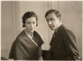 Amy Johnson; James Allan Mollison, by Bassano Ltd - NPG x85650