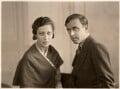 Amy Johnson; James Allan Mollison, by Bassano Ltd - NPG x85650