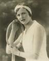 Joan Cowell O'Meara (née Ridley), by Bassano Ltd - NPG x85658