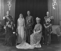 The wedding of King George VI and Queen Elizabeth, the Queen Mother, by Bassano Ltd - NPG x95768