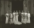 The wedding of Prince George, Duke of Kent and Princess Marina, Duchess of Kent, by Bassano Ltd - NPG x95788