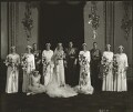 The wedding of Prince George, Duke of Kent and Princess Marina, Duchess of Kent, by Bassano Ltd - NPG x95791