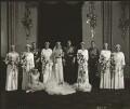 The wedding of Prince George, Duke of Kent and Princess Marina, Duchess of Kent, by Bassano Ltd - NPG x95791