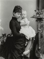 Princess Victoria of Prussia with Ena of Battenberg, by Alexander Bassano - NPG x95917