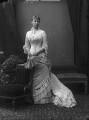 Princess Victoria Alberta Elisabeth Mathilde Marie (née Princess of Hesse), Marchioness of Milford-Haven, by Alexander Bassano - NPG x95941