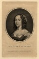 Ann (née Harrison), Lady Fanshawe, by Franz Gabriel Fiesinger, published by  T. Cadell & W. Davies, after  Cornelius Johnson (Cornelius Janssen van Ceulen) - NPG D11000