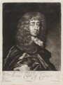 Arthur Capel, 1st Earl of Essex, by Edward Lutterell (Luttrell), published by  John Smith, after  Sir Peter Lely - NPG D11956