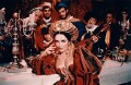 Dame Elizabeth Taylor as 'Kate' with seven other members of the cast, by Bob Penn - NPG x88698