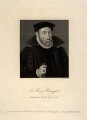 Sir Henry Bedingfield (Benifield), by John Swaine - NPG D11034