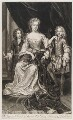 James Scott, Earl of Dalkeith; Anna Scott, Duchess of Monmouth and Duchess of Buccleuch; Henry Scott, 1st Earl of Deloraine, by and published by John Smith, after  Sir Godfrey Kneller, Bt - NPG D11552