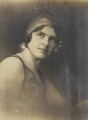 Mercedes Gleitze, by J.P. Bamber Studios of Blackpool - NPG P872