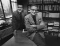 Michael William Eysenck; Hans Jürgen Eysenck, by Anne-Katrin Purkiss - NPG x36183