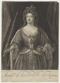 Queen Anne, by John Faber Jr, after  John Closterman - NPG D11047