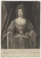 Queen Anne, by John Faber Jr, after  John Closterman - NPG D11047