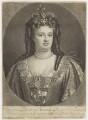 Queen Anne, by John Smith, after  Sir Godfrey Kneller, Bt - NPG D11048