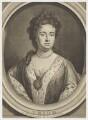 Queen Anne, by George Vertue, after  Sir Godfrey Kneller, Bt - NPG D11052