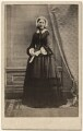 Florence Nightingale, by Henry Hering, published by  Alfred William Bennett - NPG x16139