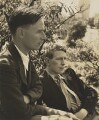 Christopher Isherwood; W.H. Auden, by Louise Dahl-Wolfe - NPG x15194