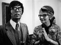 Sir Cliff Richard; Mary Whitehouse, by Bryan Wharton - NPG x88887