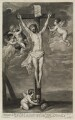 Crucifixion, by Isaac Beckett, published by  John Smith, after  Sir Anthony van Dyck - NPG D11890