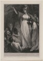 Boadicea Haranguing the Britons (called Boudicca (Boadicea)), by William Sharp, after  John Opie - NPG D11080