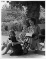Imogen Pollock; Enid Blyton, by John Gay - NPG x47292
