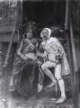 Mary Frances Crane (née Andrews) as Laura; Walter Crane as Cimabue, by Sir Emery Walker - NPG x19680