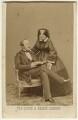 Prince Albert of Saxe-Coburg-Gotha; Queen Victoria, by John Jabez Edwin Mayall - NPG x26104