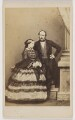 Queen Victoria; Prince Albert of Saxe-Coburg-Gotha, by John Jabez Edwin Mayall - NPG x26101