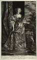 Anne Kirke (née Killigrew), by Isaac Beckett, published by  Alexander Browne, after  Sir Anthony van Dyck - NPG D11449