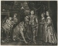 The Five Eldest Children of King Charles I, published by Alexander Browne, after  Sir Anthony van Dyck - NPG D11400