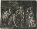 The Five Eldest Children of King Charles I, published by Alexander Browne, after  Sir Anthony van Dyck - NPG D11400