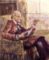 (Lloyd) Logan Pearsall Smith, by Ethel Sands - NPG 6573
